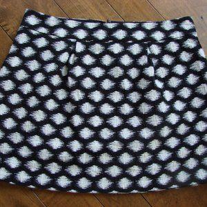 Banana Republic Geo Jacquard Flare Mini Skirt ~ 14